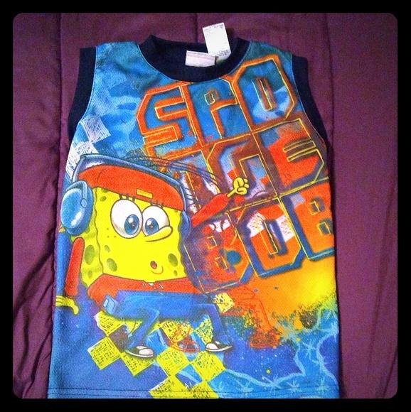 Nickelodeon Other - Sponge Bob PJ Top Boy's Size 8